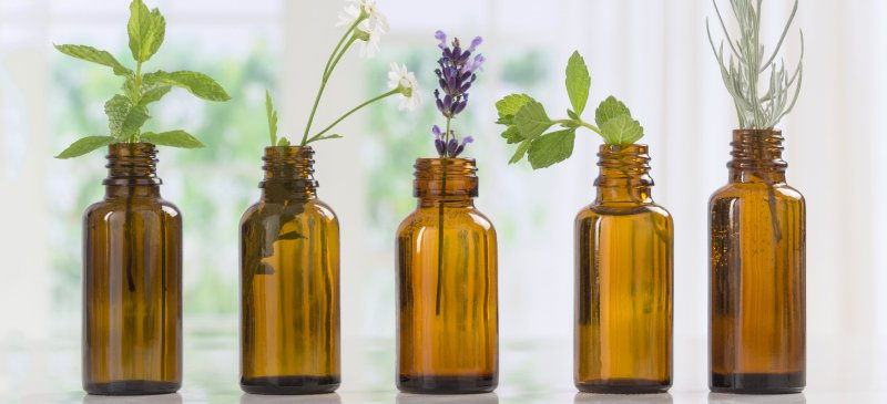 essential-oils-showing-plants