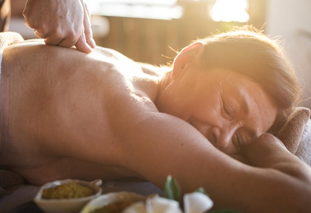 Mature woman at Zanctuary - Vancouver Massage Center