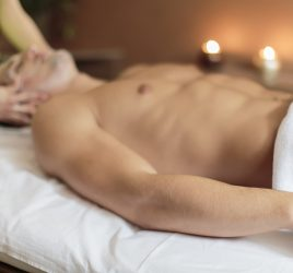 Facial massage at vancouver massage center