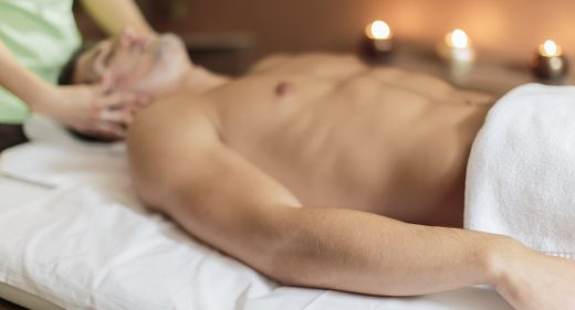 Facial massage at vancouver massage center