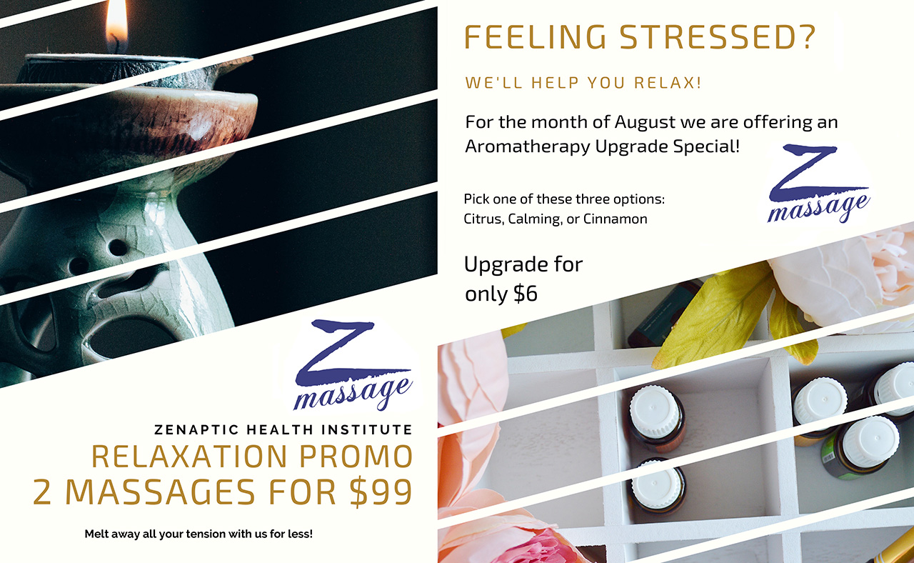 Vancouver Massage Center Special for August